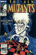 New Mutants (1983-1991) #68 Variant A: Newsstand Edition