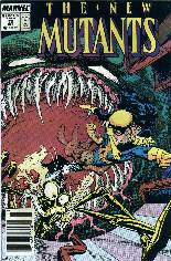 New Mutants (1983-1991) #70 Variant A: Newsstand Edition