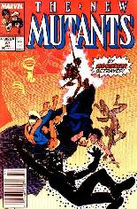 New Mutants (1983-1991) #83 Variant A: Newsstand Edition