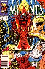 New Mutants (1983-1991) #85 Variant A: Newsstand Edition