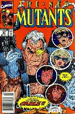 New Mutants (1983-1991) #87 Variant A: Newsstand Edition