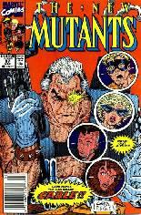 New Mutants (1983-1991) #87 Variant A: Newsstand Edition