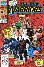 New Warriors (1990-1996) #1 Variant B: Direct Edition