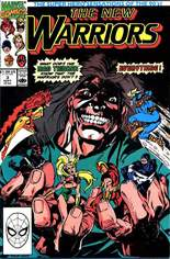 New Warriors (1990-1996) #3 Variant B: Direct Edition