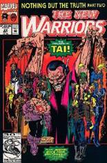 New Warriors (1990-1996) #23 Variant B: Direct Edition