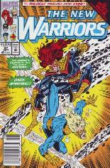 New Warriors (1990-1996) #27 Variant A: Newsstand Edition