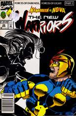 New Warriors (1990-1996) #33 Variant A: Newsstand Edition