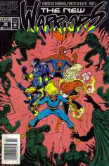 New Warriors (1990-1996) #34 Variant A: Newsstand Edition