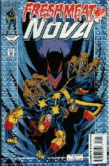 Nova (1994-1995) #5: Comes w/ a Bound-In Marvel Masterprints Card
