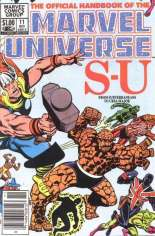 Official Handbook of the Marvel Universe (1983-1984) #11 Variant A: Newsstand Edition