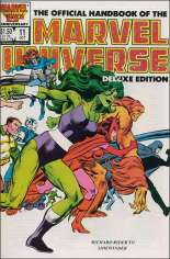 Official Handbook of the Marvel Universe Deluxe Edition (1985-1988) #11