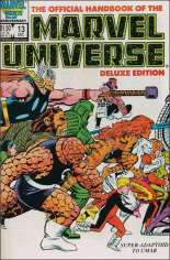 Official Handbook of the Marvel Universe Deluxe Edition (1985-1988) #13