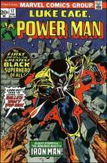 Power Man (1974-1978) #17: Numbering continued from Hero For Hire (1972-1973) #16