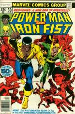 Power Man and Iron Fist (1978-1986) #50 Variant A: Numbering continued from Power Man (1974-1978) #51