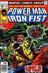 Power Man and Iron Fist (1978-1986) #51 Variant A