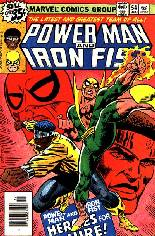 Power Man and Iron Fist (1978-1986) #54 Variant A