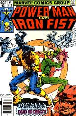 Power Man and Iron Fist (1978-1986) #61 Variant A: Newsstand Edition