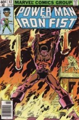 Power Man and Iron Fist (1978-1986) #63 Variant A: Newsstand Edition