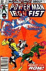 Power Man and Iron Fist (1978-1986) #73 Variant A: Newsstand Edition