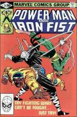 Power Man and Iron Fist (1978-1986) #74 Variant B: Direct Edition