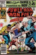 Power Man and Iron Fist (1978-1986) #77 Variant A: Newsstand Edition