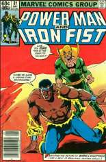 Power Man and Iron Fist (1978-1986) #81 Variant A: Newsstand Edition