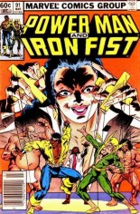 Power Man and Iron Fist (1978-1986) #91 Variant A: Newsstand Edition