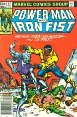 Power Man and Iron Fist (1978-1986) #97 Variant A: Newsstand Edition