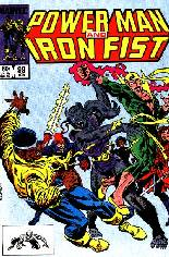 Power Man and Iron Fist (1978-1986) #99 Variant B: Direct Edition