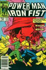 Power Man and Iron Fist (1978-1986) #102 Variant A: Newsstand Edition