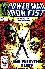 Power Man and Iron Fist (1978-1986) #104 Variant B: Direct Edition