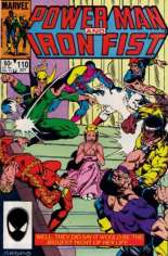Power Man and Iron Fist (1978-1986) #110 Variant B: Direct Edition