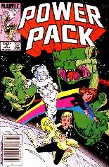 Power Pack (1984-1991) #2 Variant A: Newsstand Edition