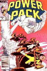 Power Pack (1984-1991) #3 Variant A: Newsstand Edition