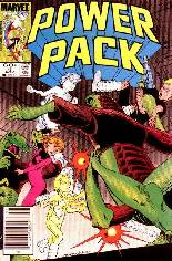 Power Pack (1984-1991) #4 Variant A: Newsstand Edition