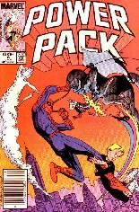 Power Pack (1984-1991) #6 Variant A: Newsstand Edition