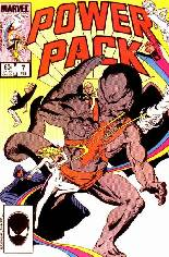 Power Pack (1984-1991) #7 Variant B: Direct Edition