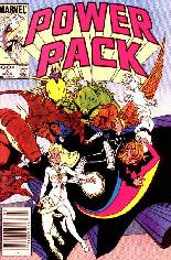 Power Pack (1984-1991) #8 Variant A: Newsstand Edition