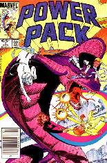 Power Pack (1984-1991) #9 Variant A: Newsstand Edition