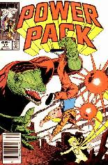 Power Pack (1984-1991) #17 Variant A: Newsstand Edition