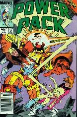Power Pack (1984-1991) #18 Variant A: Newsstand Edition