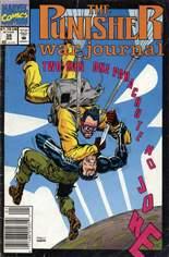 Punisher: War Journal (1988-1995) #38 Variant A: Newsstand Edition