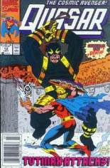 Quasar (1989-1994) #12 Variant A: Newsstand Edition