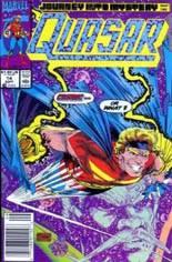 Quasar (1989-1994) #14 Variant A: Newsstand Edition