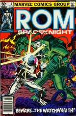 Rom (1979-1986) #16 Variant A: Newsstand Edition