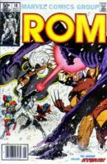 Rom (1979-1986) #18 Variant A: Newsstand Edition