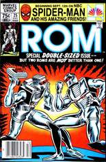 Rom (1979-1986) #25 Variant A: Newsstand Edition