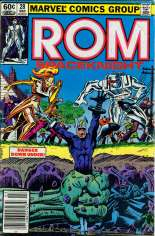 Rom (1979-1986) #28 Variant A: Newsstand Edition