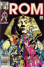 Rom (1979-1986) #39 Variant A: Newsstand Edition