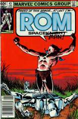Rom (1979-1986) #43 Variant A: Newsstand Edition